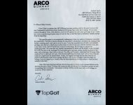ARCO Murray Letter of Recommendation